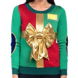 Tipsy Elves Christmas present sweater